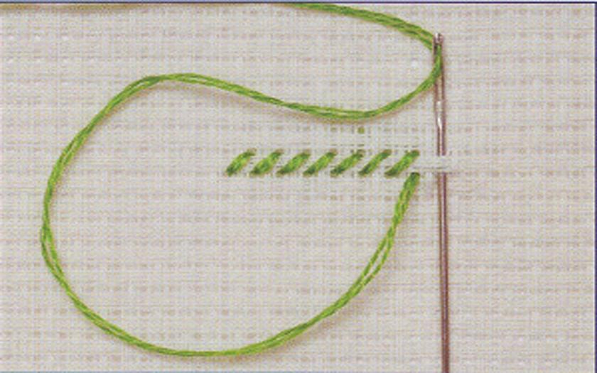 Размер крестика для вышивания как